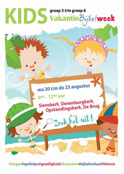 Uitzonderlijk Vakantie Bijbel week • CGKNunspeet.nlCGKNunspeet.nl &AA79