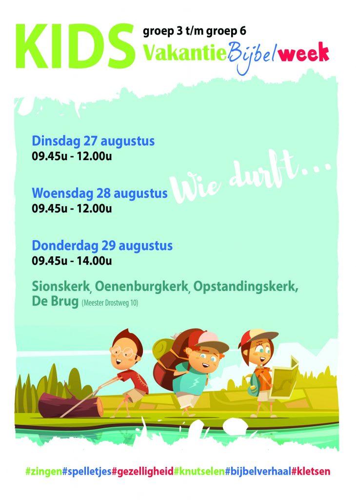 Wonderlijk KIDS Vakantie Bijbel Week • CGKNunspeet.nlCGKNunspeet.nl PN-98